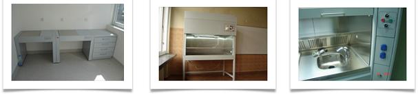 Химически и ламинирани камери за лабораторно оборудване