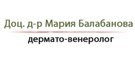 Доц. д-р Мария Балабанова
