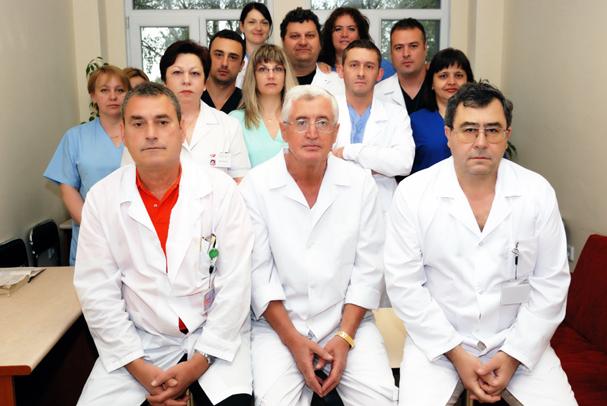 Екип Клиника по коремна хирургия