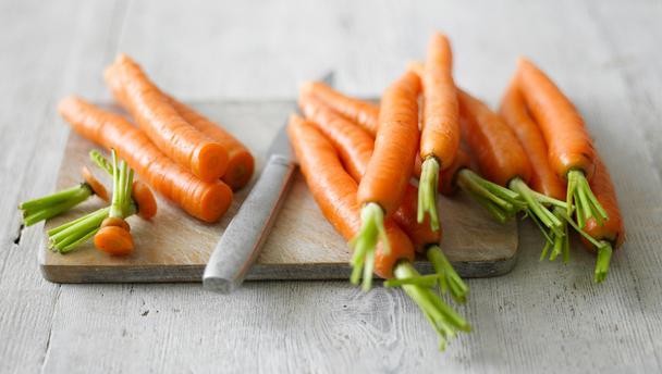 Голямо количество витамин А може да си набавим от от морковите