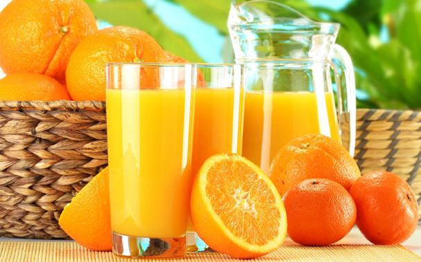 Здравословният сок от портокал